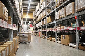 Geschäftsinhaltsversicherung - Warenlager