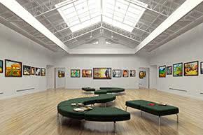 Ausstellungsversicherung - Austellung in Galerie