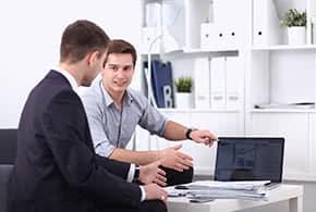 Büroversicherung - Informationsgespräch