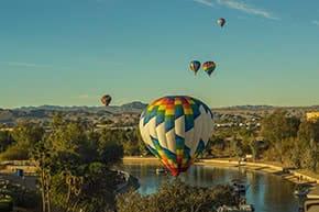 Luftfahrtversicherung - Heissluftballoons