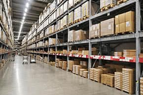 Inventarversicherung - wertvolle Lagerbestände