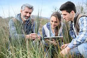 Umwelthaftpflichtversicherung - Untersuchungen in der Natur