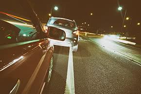 Verkehrshaftpflichtversicherung - nächtliche Autofahrt