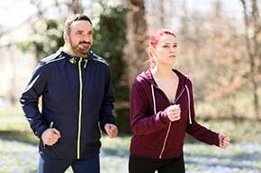 Berufshaftpflichtversicherung Sportlehrer – Lauftraining im Park
